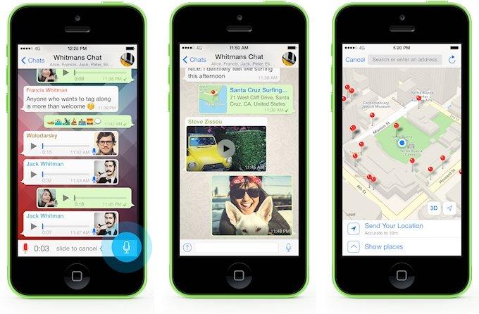 - La nueva versión de WhatsApp ya es compatible con iOS 8 - imagen 2