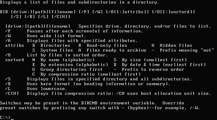 25 años MS-DOS