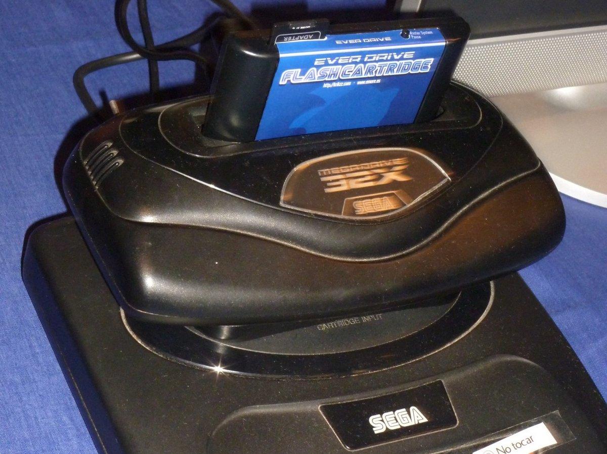 32X, el añadido que se unía a Mega Drive