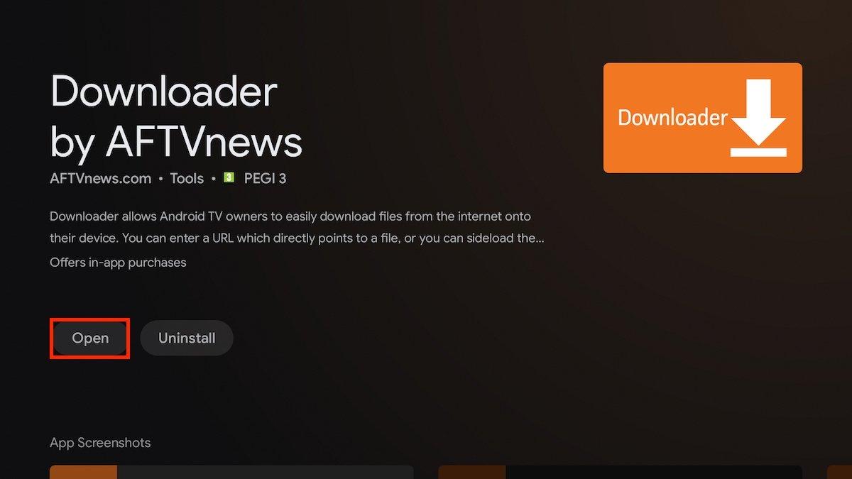 Abrir Downloader