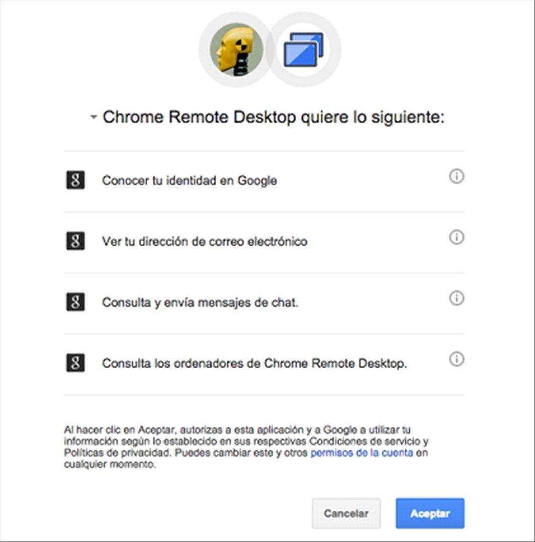 Acceso remoto a tu PC desde iOS paso a paso con Chrome Remote Desktop - imagen 4
