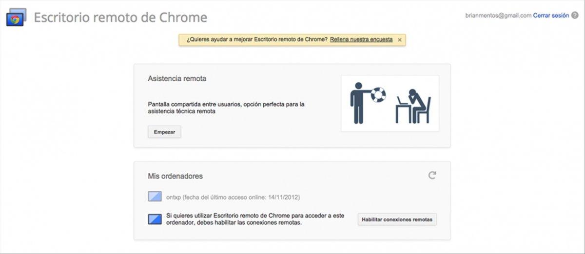 Acceso remoto a tu PC desde iOS paso a paso con Chrome Remote Desktop - imagen 5