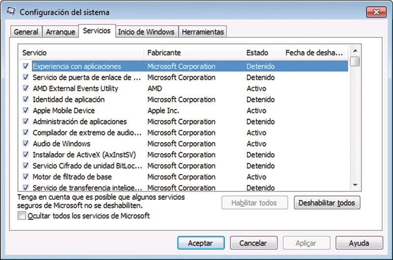 Acelera Windows 10