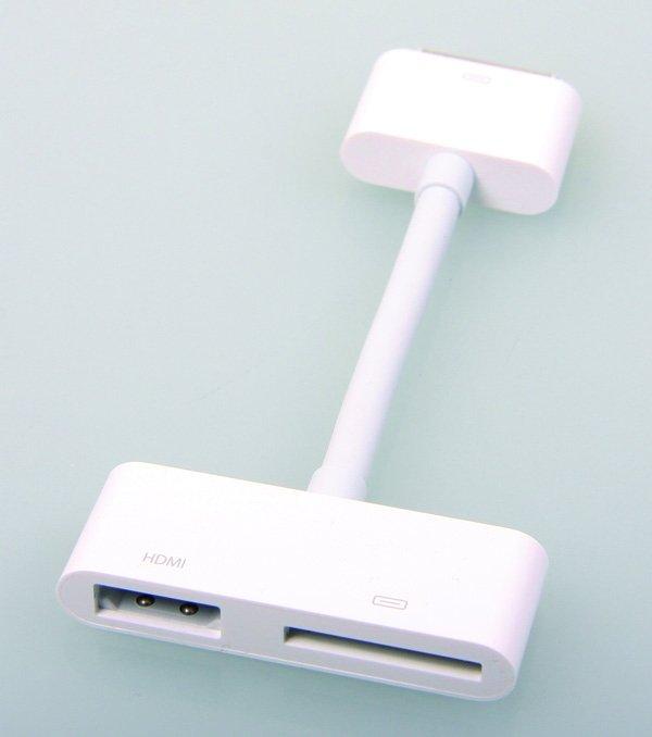 Adaptador HDMI iPad 2