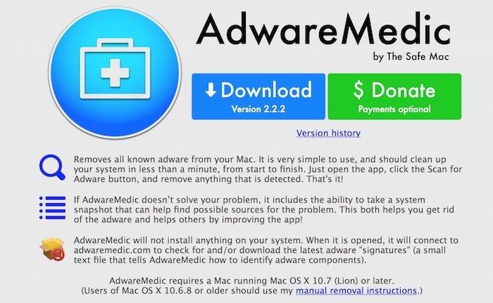 AdwareMedic, una solución gratuita y segura para eliminar el Adware
