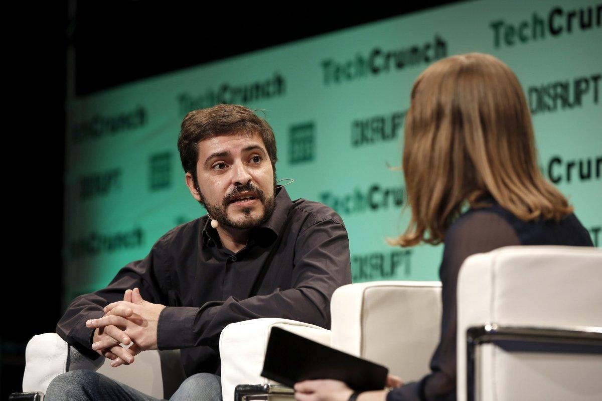 Agustín Gómez, cofundador de Wallapop, en una entrevista