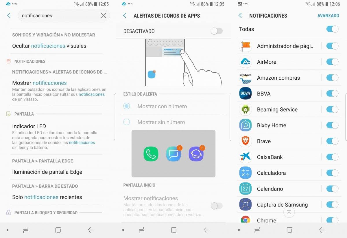 Ajustando las opciones de las notificaciones en Android