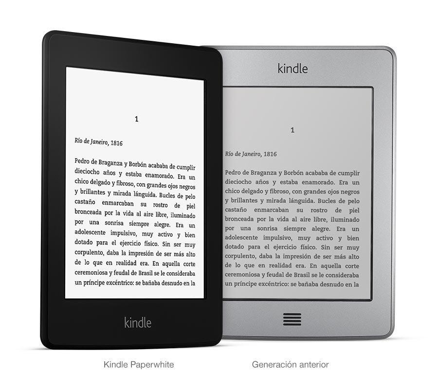 Amazon Kindle Paperwhite vs Kindle