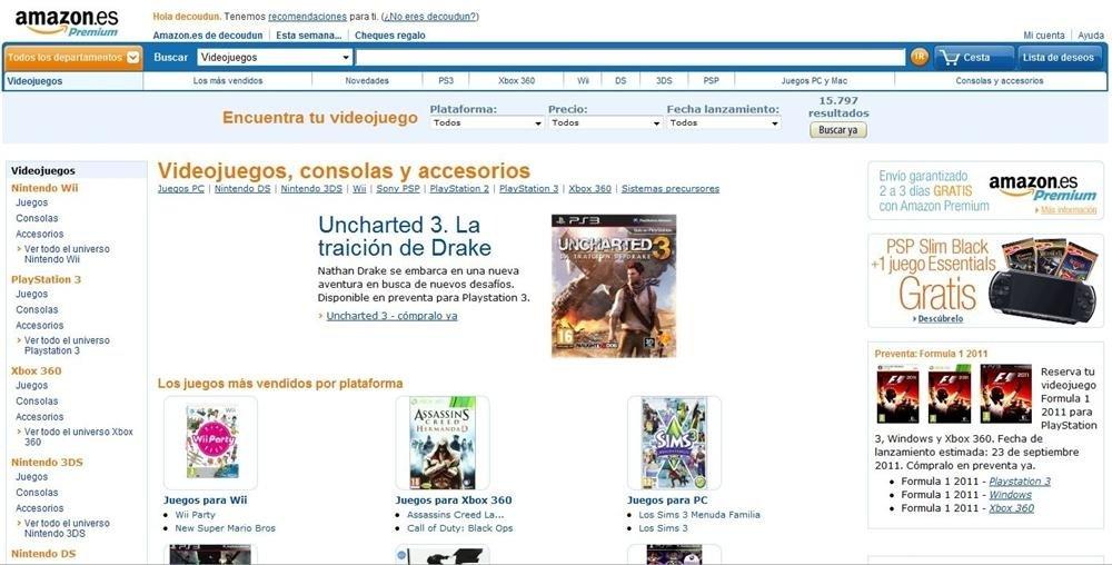 Amazon.es pantallazo 2