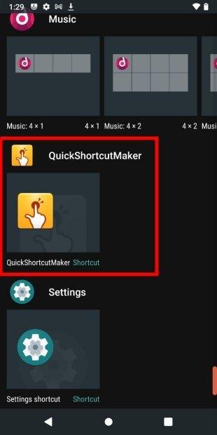 Añadir nuevo widget