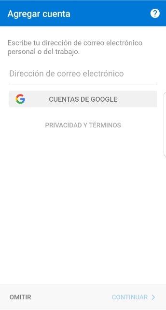 Añadir una cuenta de Google a Outlook