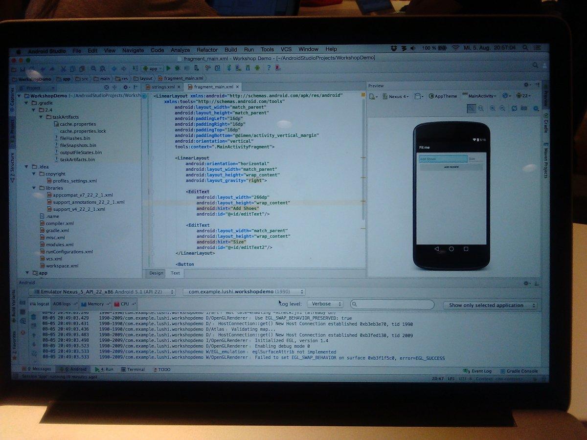 Android Studio tiene lo necesario para poder usar ADB