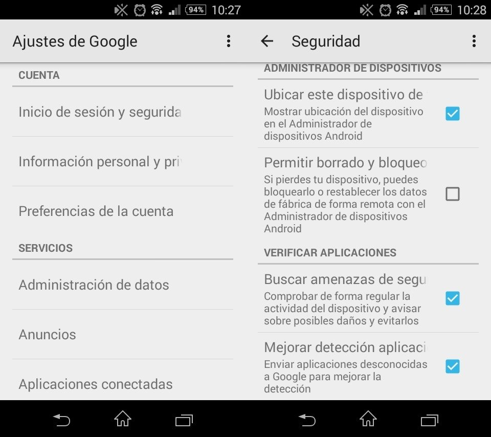 Android tiene funciones antivirus incorporadas mejores que las de las apps