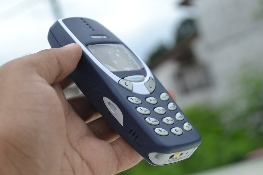Antiguo Nokia 3310