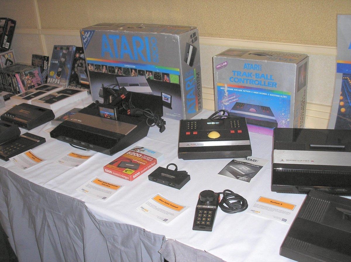 Antiguos sistemas domésticos de Atari
