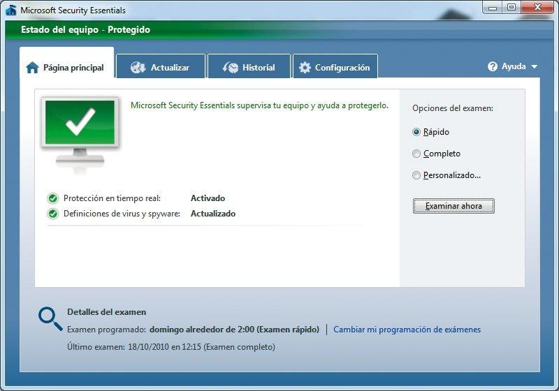 Antivirus gratuito Microsoft