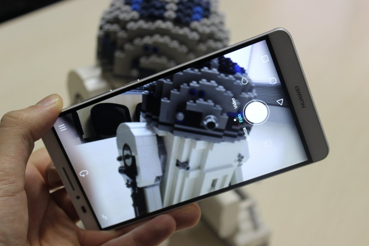 Aplicación de cámara de fotos de Huawei Ascend Mate 7