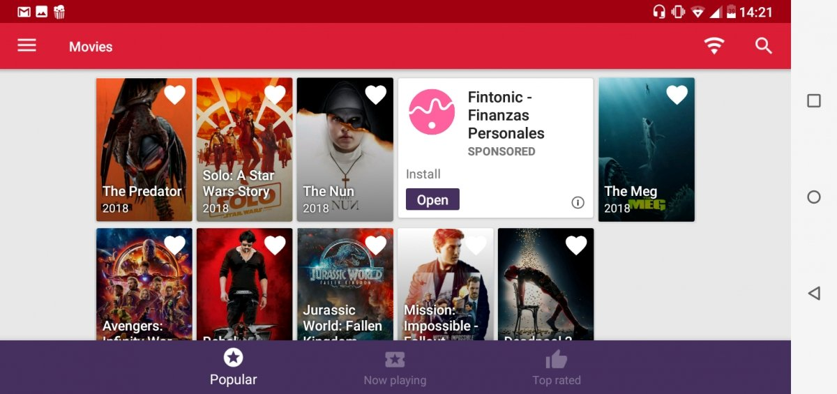 Appflix es otra alternativa a Plusdede en Android