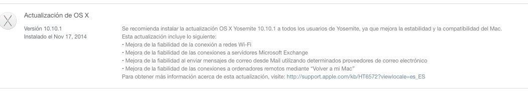 Apple lanza iOS 8.1.1 y un parche para Yosemite - imagen 2