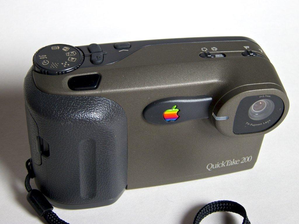Apple QuickTake 200, la cámara de Apple que nunca funcionó