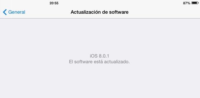 Apple retira iOS 8.0.1 por problemas de cobertura y Touch ID