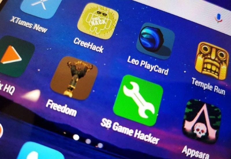 Apps de hack para Android instaladas