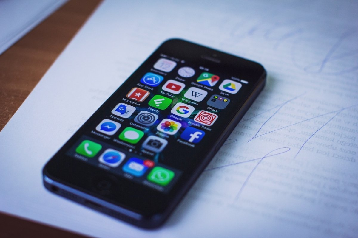 Apps en un iPhone