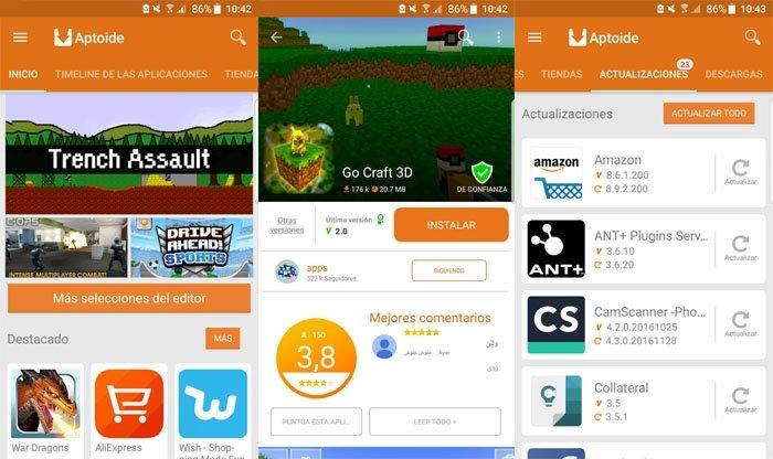 Aptoide Market Alternativo Android