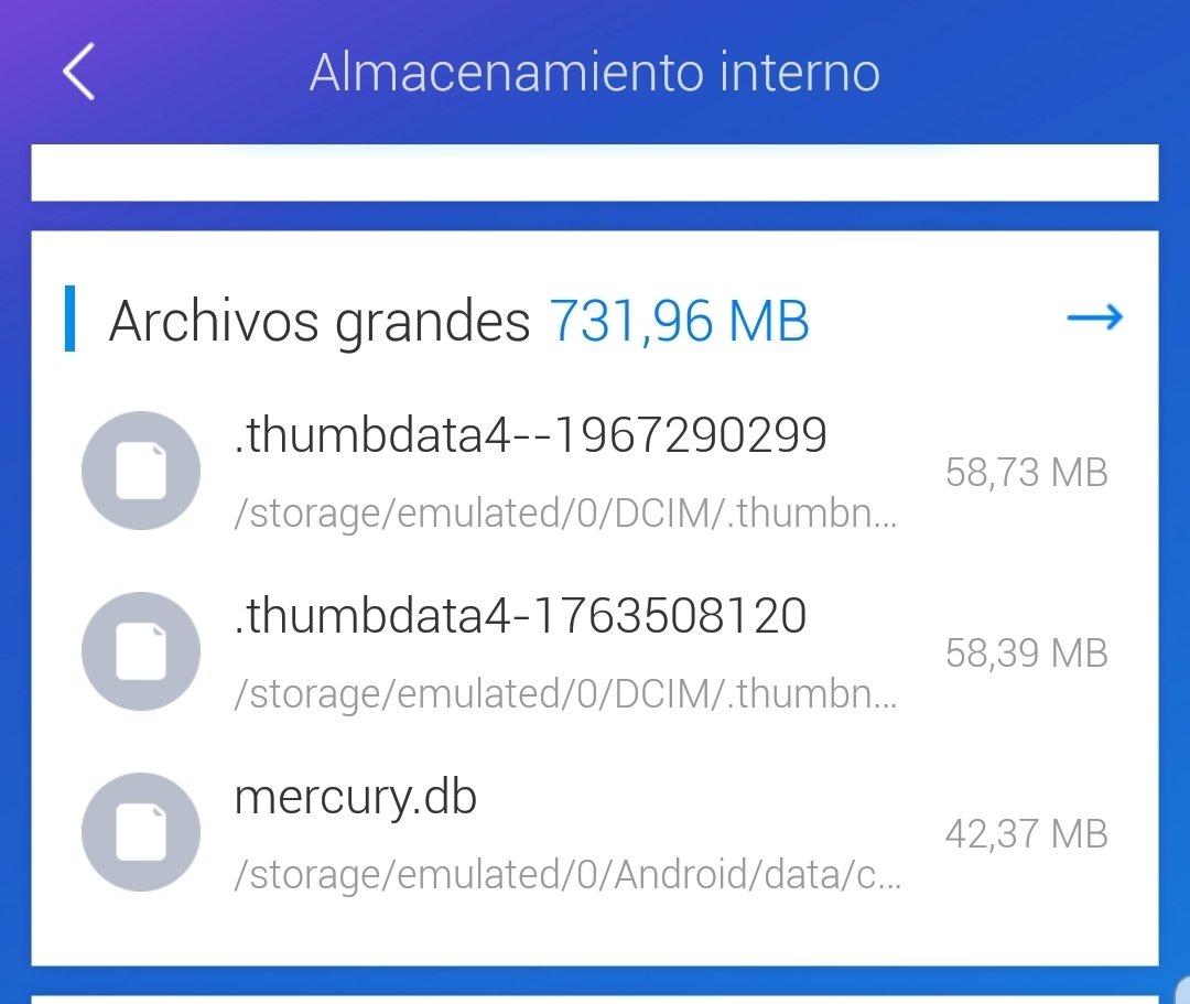 Archivos ocultos en Android