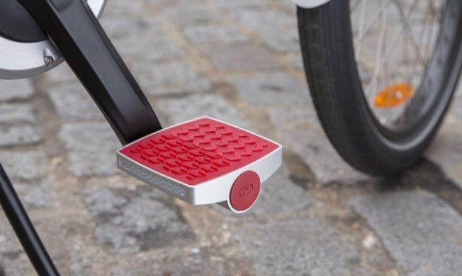 Así es el pedal que monitoriza tu salud