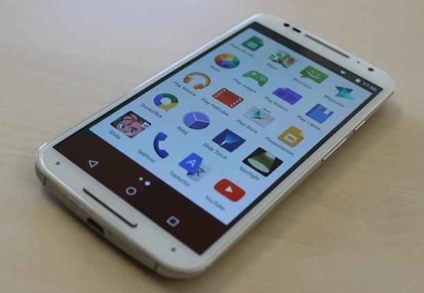 Así luce la pantalla del Moto X de segunda generación