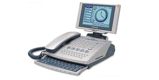 Así lucía el Amstrad E-mailer