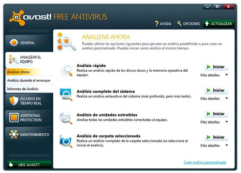 Avast! Free Antivirus 6.0
