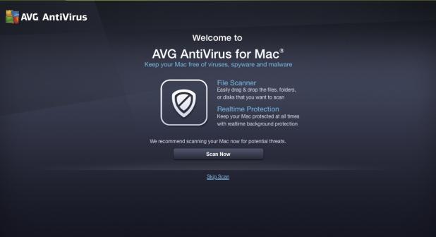 AVG AntiVirus para Mac