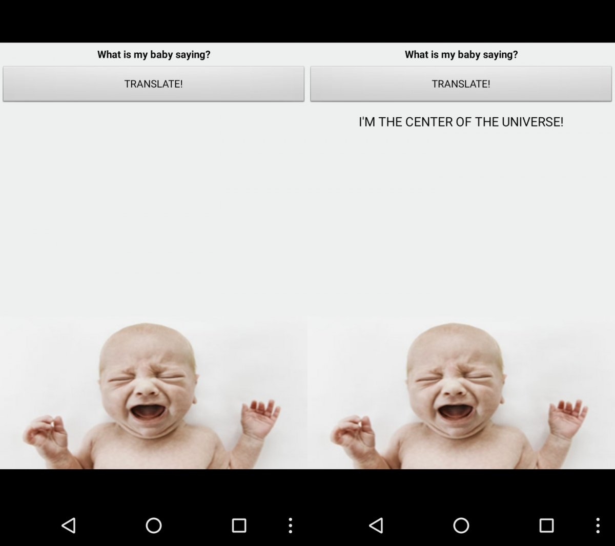 Baby Translate