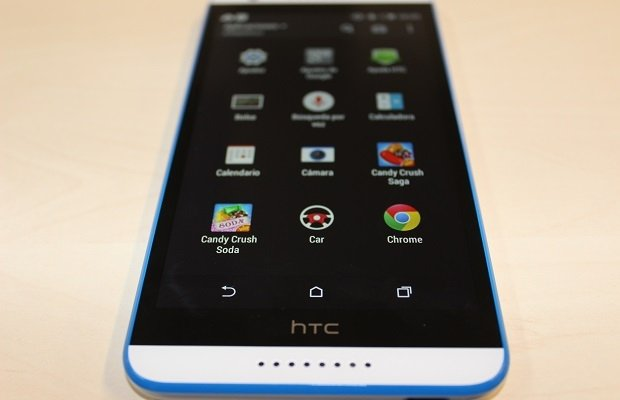 Bandeja de aplicaciones del Desire 820 con HTC Sense 6.0