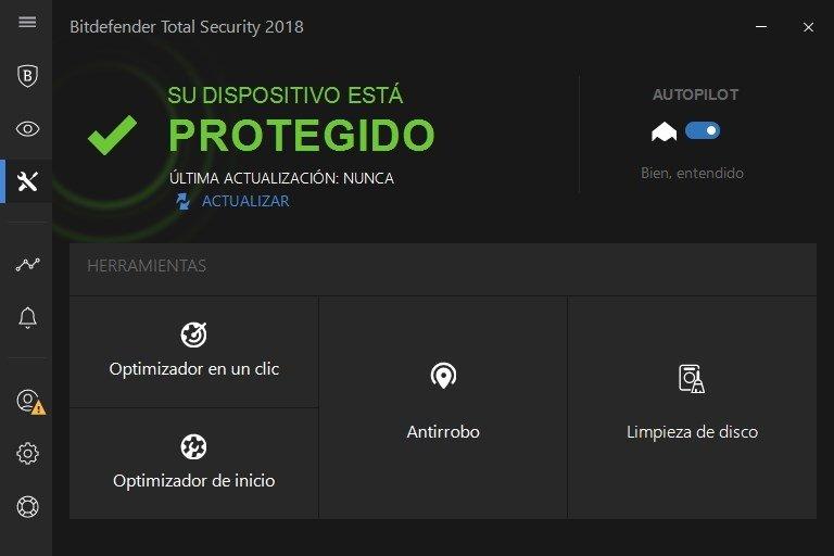 Bitdefender Total Security 2018 - Herramientas