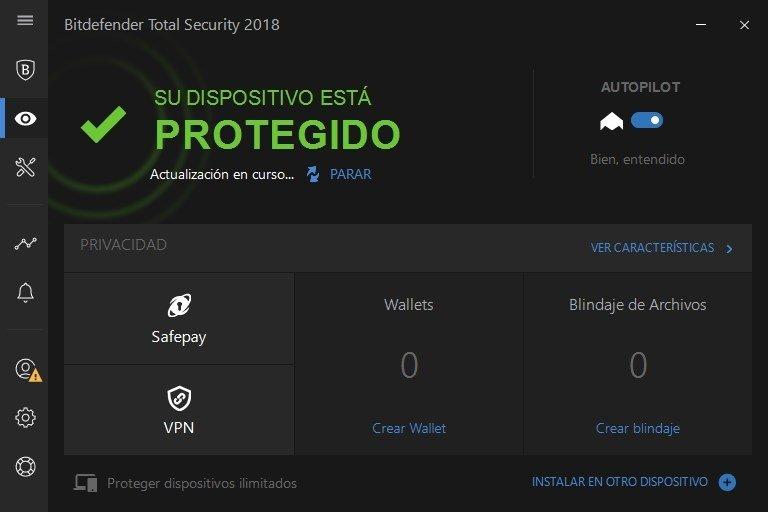 Bitdefender Total Security 2018 - Privacidad