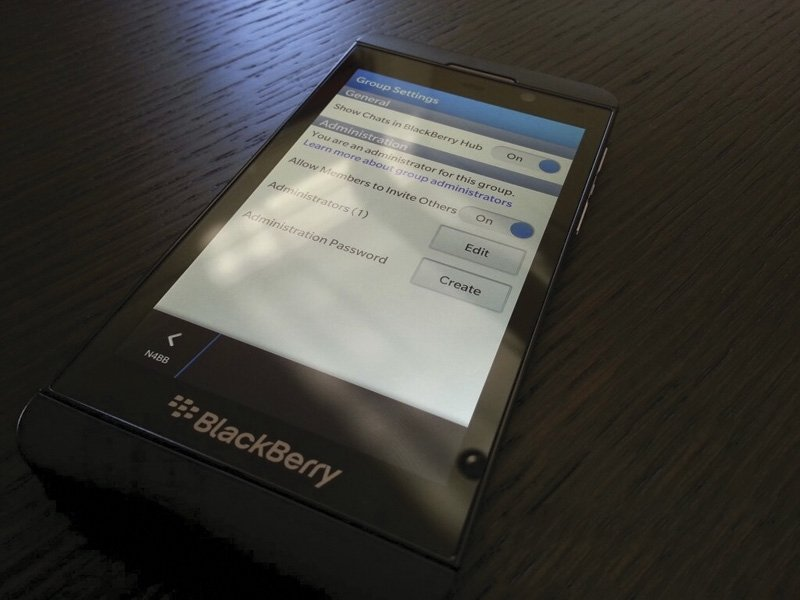 BlackBerry 10 detalle