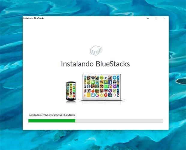 Instalacion de BlueStacks