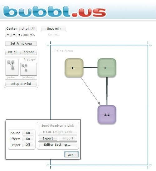 BUBBLUS Mind Map - Branson bubbl us concept map