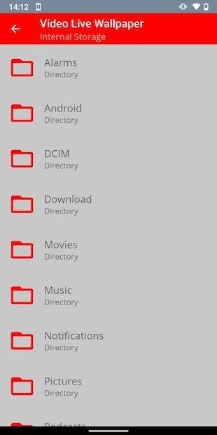 Buscar vídeo con explorador de archivos