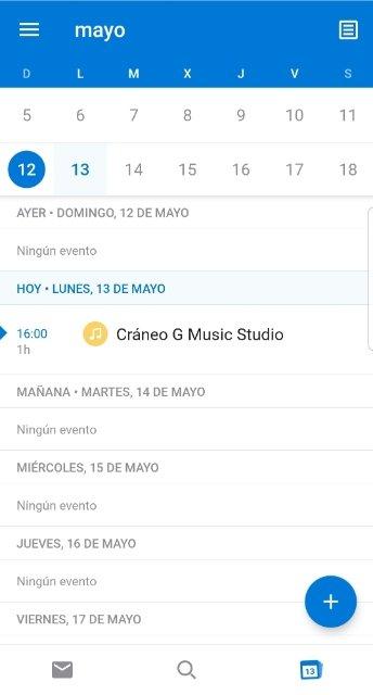Calendario de Google sincronizado con Outlook