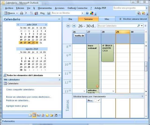 Calendario Outlook.Comparte Tu Calendario De Outlook 97