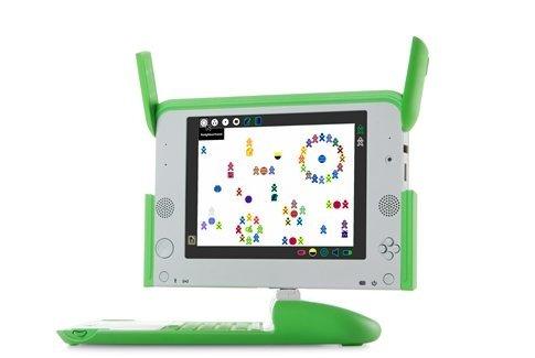 Captura de pantalla de un OLPC