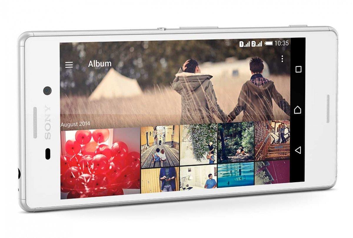 Captura de pantalla del Xperia M4