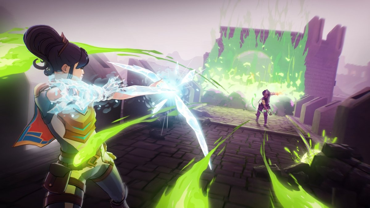 Captura del gameplay de Spellbreak