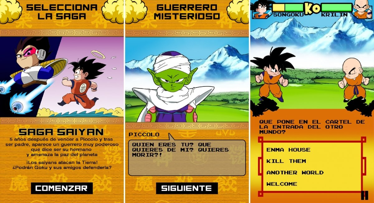 Capturas de pantalla de Dragon BattleQuiz