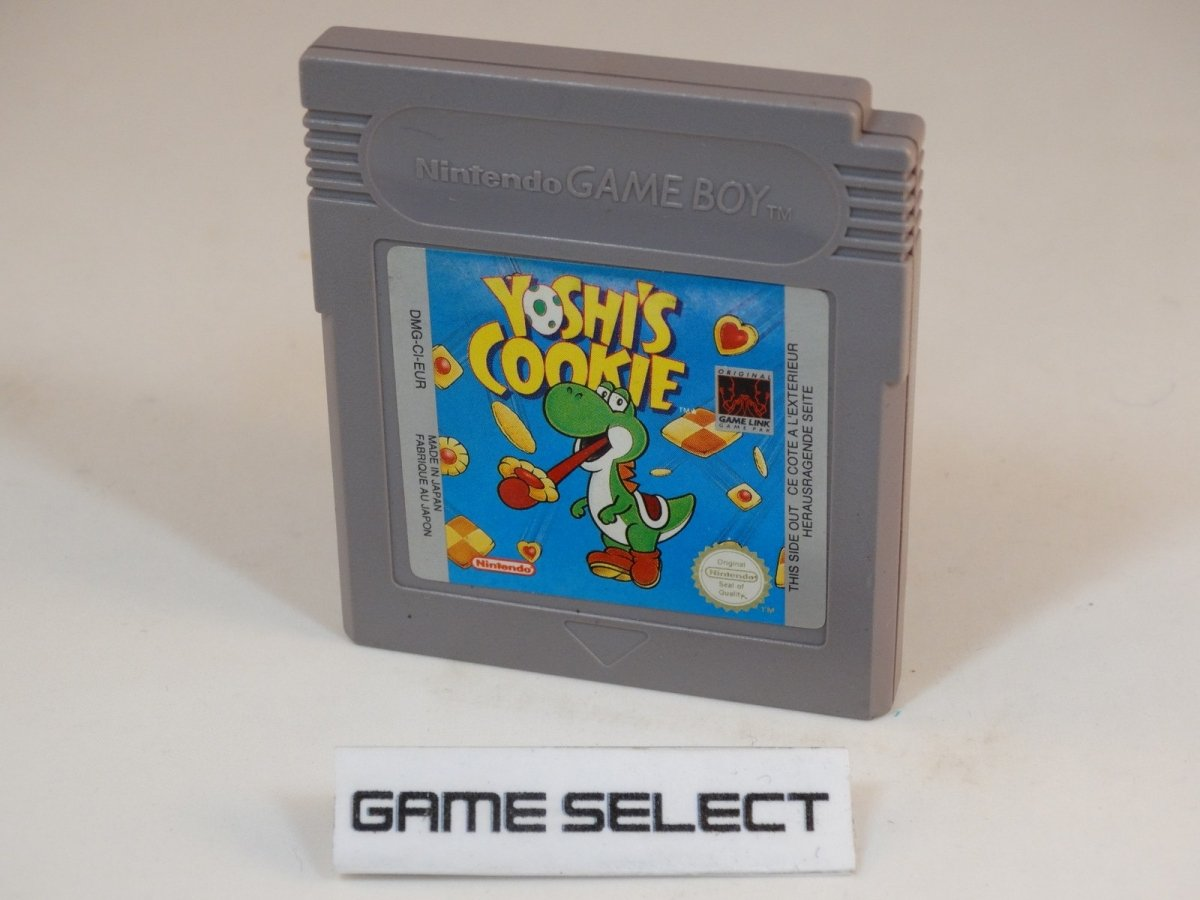 Cartucho de Yoshi's Cookie para Game Boy
