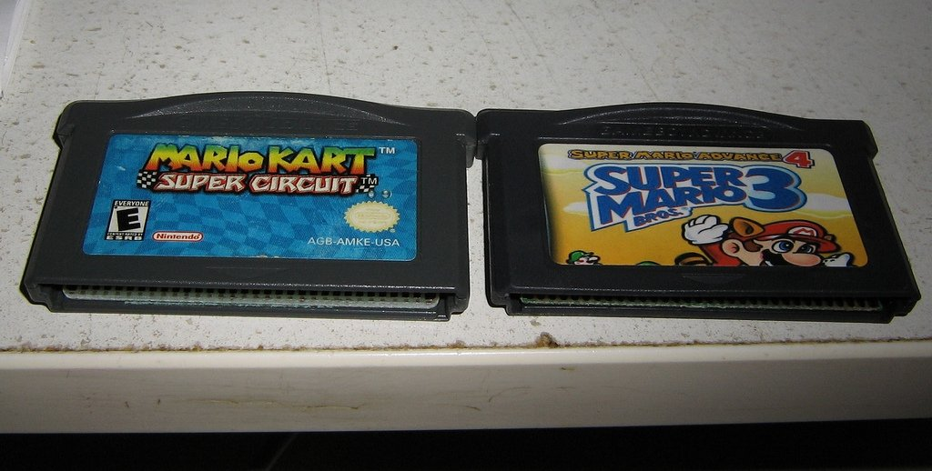 Cartuchos piratas de Game Boy Advance
